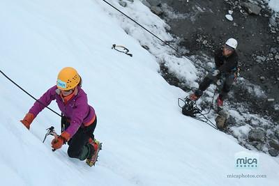 September 3 - Ice Climb with Jesse