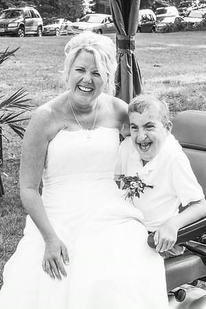 The Wedding Party - Black & White