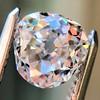 1.03ct Antique Pear/Heart Shape Diamond GIA F VS2 0