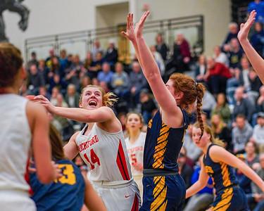 Rockford Girls Basketball vs Hudsonville Regional 3.10.2020