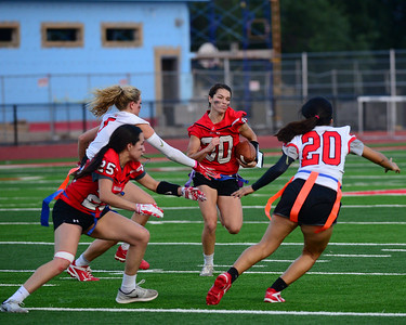 Jourdanton 2017 Powder Puff Football