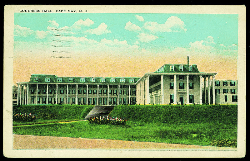 Congress Hall postcard 1927