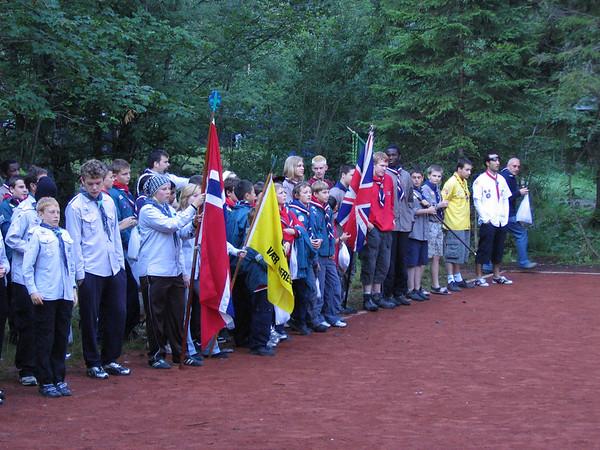 International Flag Break