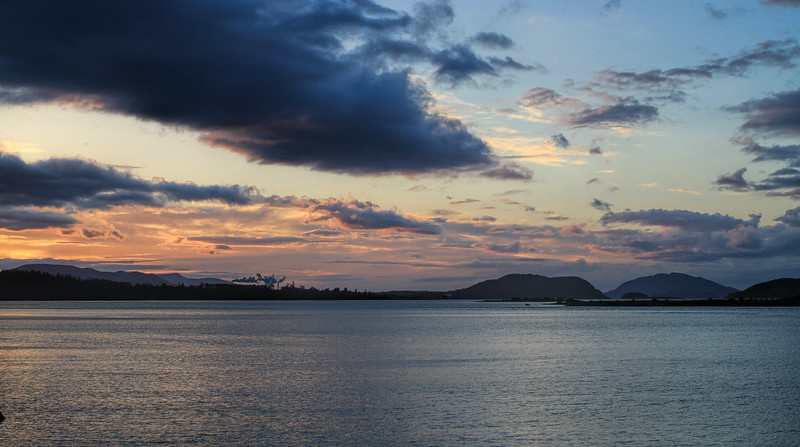 Fidalgo Island sunset