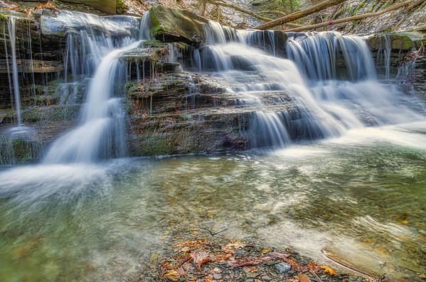 Conklin Gully 12 Falls Trail