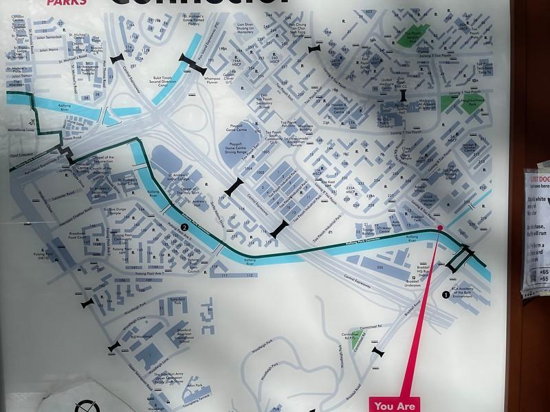 Kallang Park Connector : Braddell to Potong Pasir