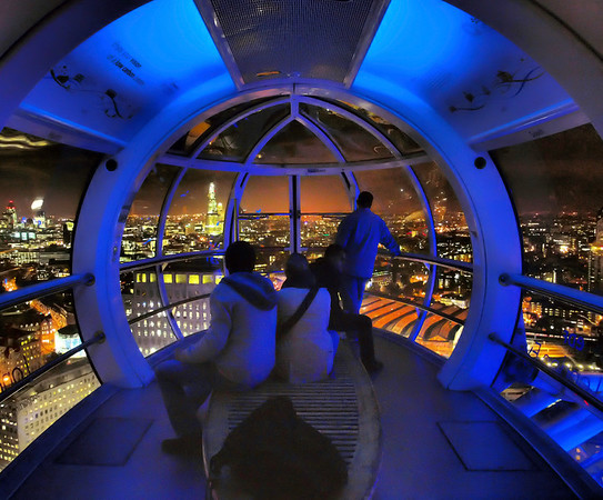 London aerial photography panorama from the London Eye