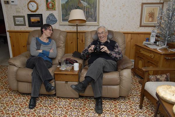 Clara and Ewart Leask