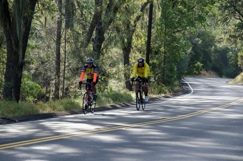 CA 128: Descending Tandem Hill