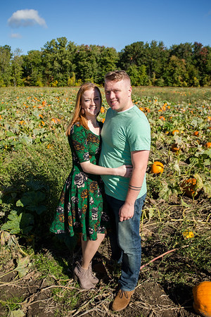 Blakes Apple Orchard Engagement Photography / Shelby + Dennis