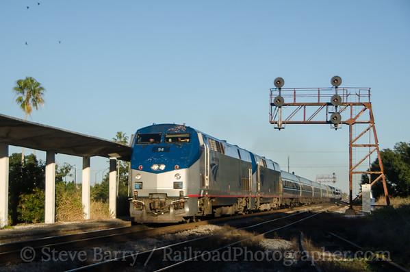 Amtrak Lakeland, Florida December 14, 2014