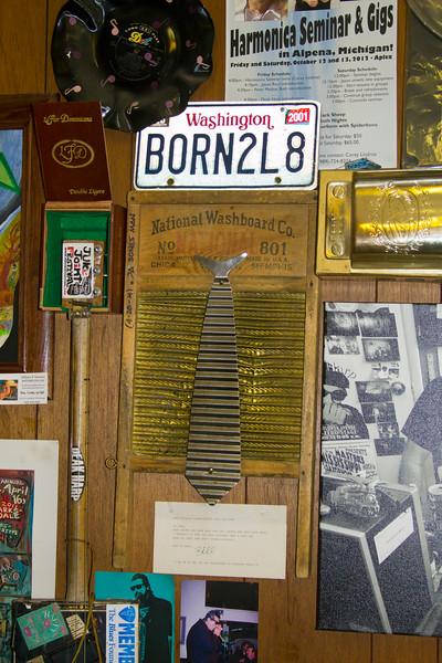 Deak Harp's Shop in Clarksdale