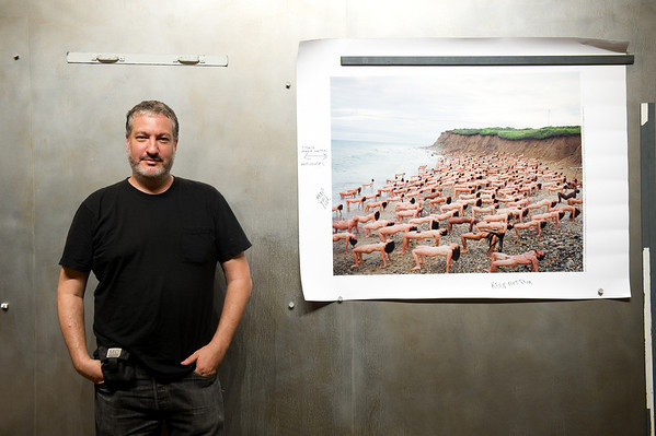 SPENCER TUNICK portrait