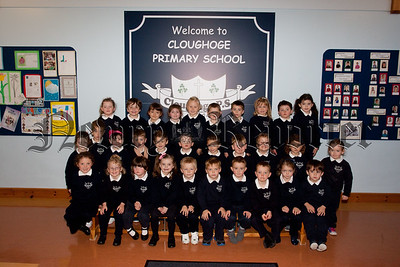 New Primary 1 Class at Cloughogue Primary School. Pictured are Mrs Quinn's Class. R1539017