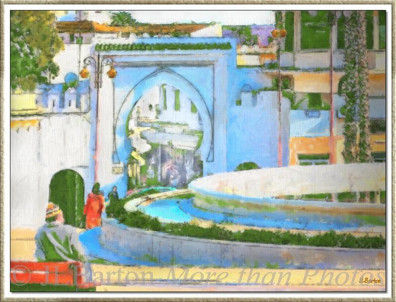 Medina Entrance Tangier, Morocco