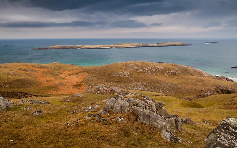 Eilean Horn island at Durness
