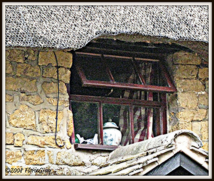 Window With Ginger Jar  ©2008 FlorieGray, Wroxton