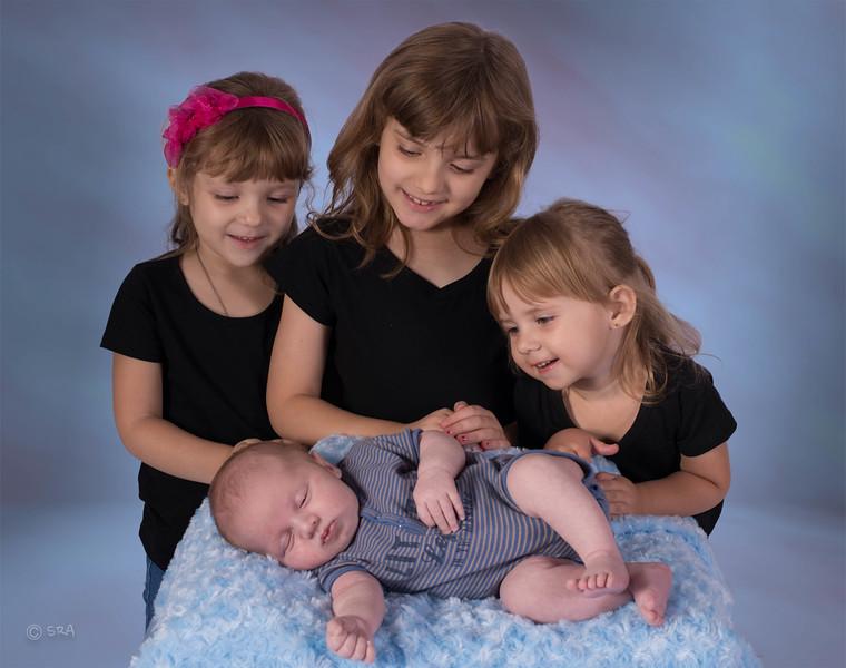 Katy, Emma, Paige & Michael