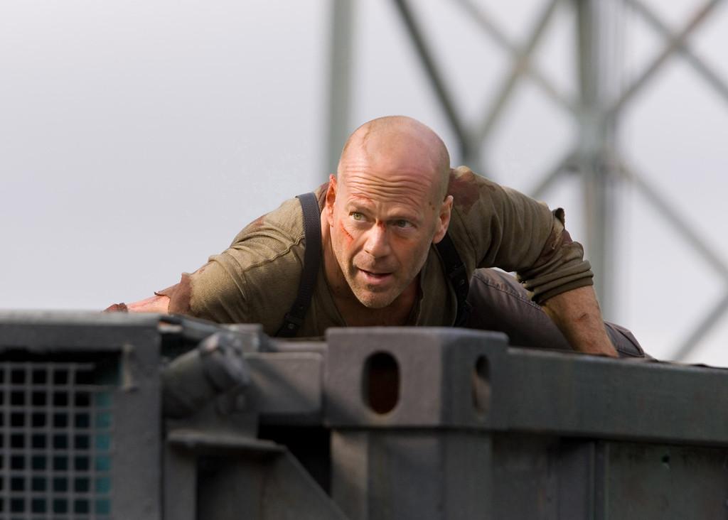 ". \""Live Free or Die Hard\"" movie starring Bruce Willis as New York City Detective John McClane is released on June 27, 2007."