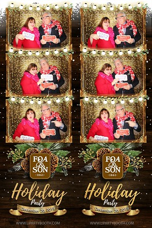 Foa & Son Holiday Party 2019