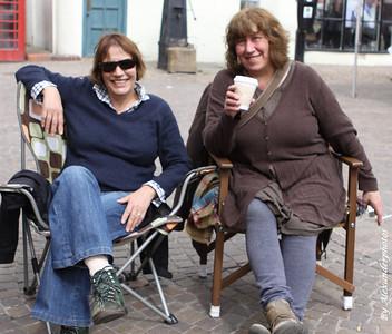 Stall owners Newark Market 2012..