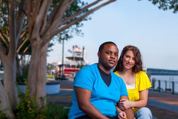 Brittany and Darius Candid E-Session