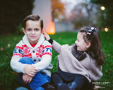 Daniel & Olivia Autumn Portraits