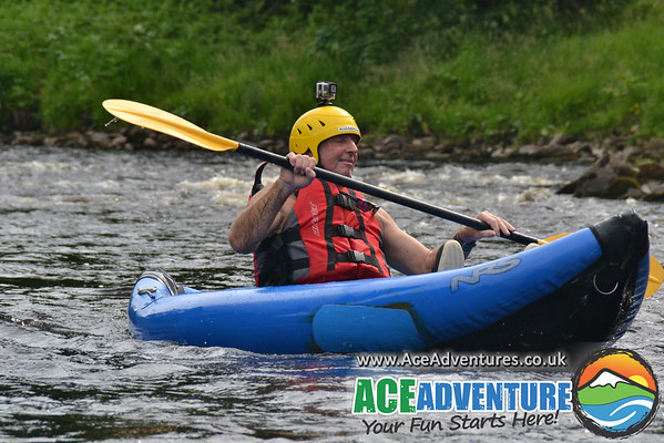 2nd July 2015 Half Day Rafting and Canoeing