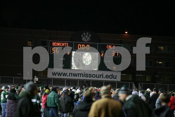 College Football-Division II Semifinal-Northwest Missouri State University vs California PA University 12-5-09 Camera 2 of 2