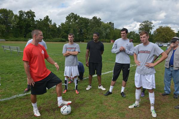 2013 Soccer Alumni Soccer Game