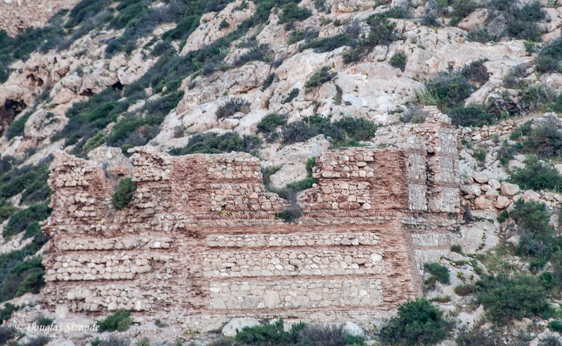 Cartagena, Spain - Ancient ruins dot the hillsides