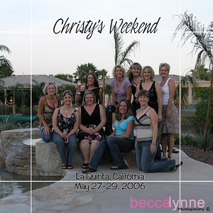 may 27. 2006 christy's girls weekend album