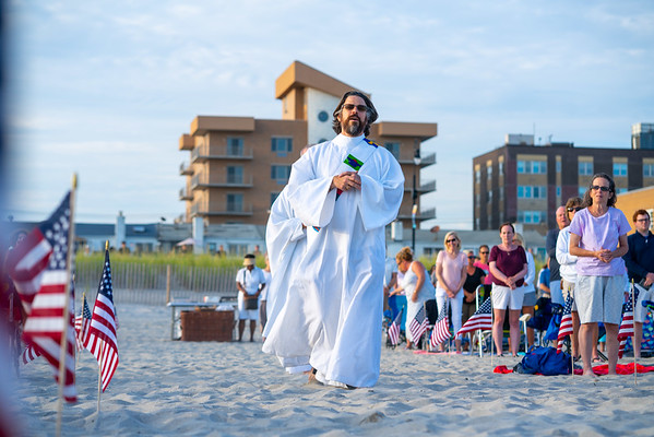 Beach Mass in Honor of First Responders | 08.15.21