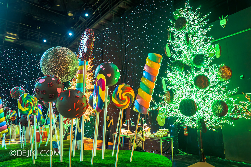 Universal Studios Singapore Park Update 2017 - Chocolate Garden - Lollipop Garden