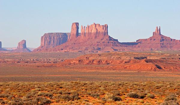 Monument Valley, 4-Corners, and Navajo Bridge