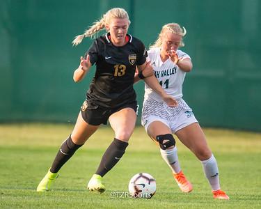 OU Women's Soccer vs. Utah Valley University 8/17/2019