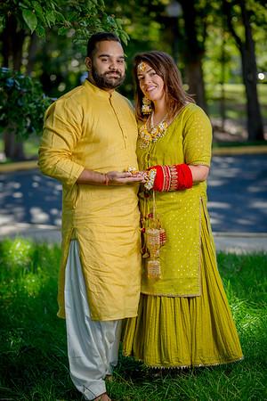 Kimberly-Arjun (Mehandi)