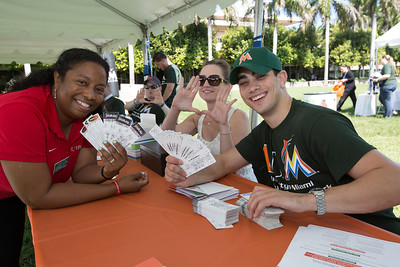 Ticket Distribution Coral Gables Campus- March 11, 2014