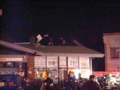 Exxon Gas Station Fire 1/1/08