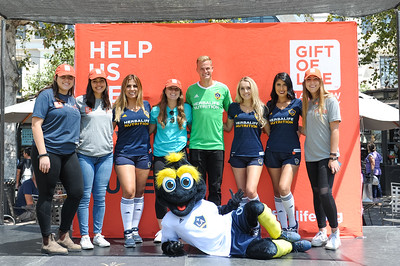 2017 Kick Blood Cancer with the LA Galaxy Foundation