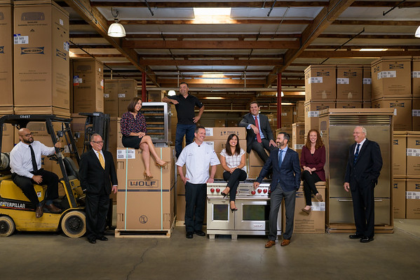 Riggs Distributing – Warehouse Group Photo