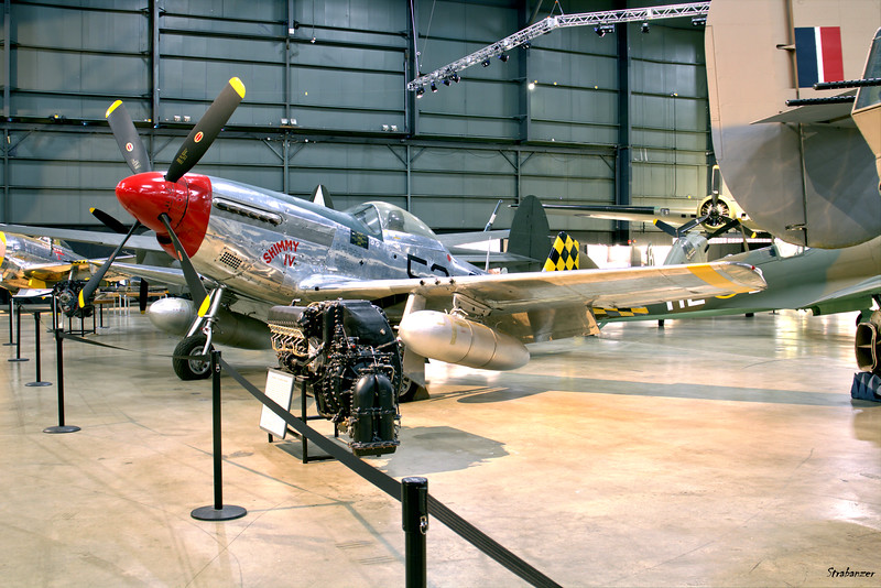 National Museum of the United States Air Force, Dayton, Ohio,   04/12/2019  North American P-51D-30-NA Mustang, C/N: 122-41476 44-74936,  This work is licensed under a Creative Commons Attribution- NonCommercial 4.0 International License.