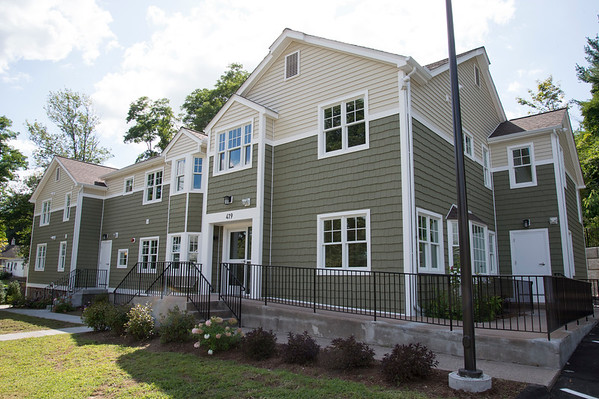 08/26/19 Wesley Bunnell | Staff The Elms, located at 419 West St, provides housing for homeless veterans.