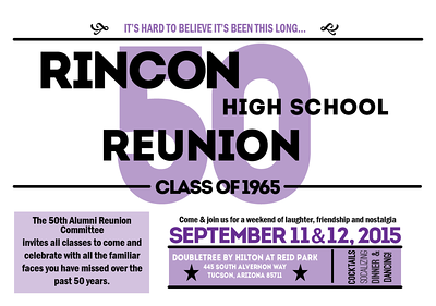Rincon HS - Class of 65 Reunion