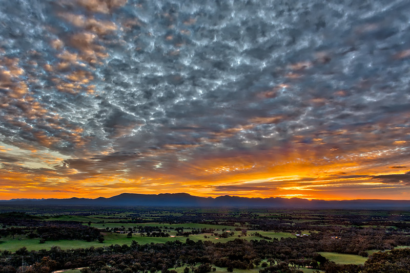 Grampians Sunset