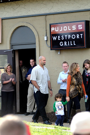 Albert Pujols Statue Dedication