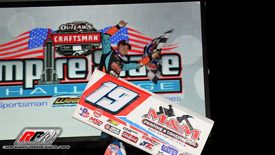 Weedsport Speedway - World Of Outlaws - 7/29/18 - Shawn Greene