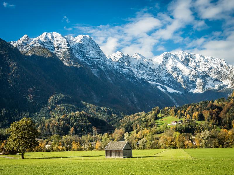 Autumn Trainride through Tirol, Austria
