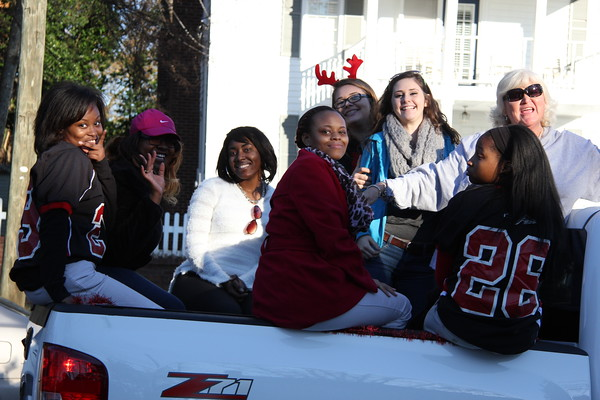 Milledgeville Christmas Parade 2014