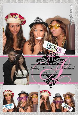 Ashley & Jun's Wedding (Luxury Photo Pod)